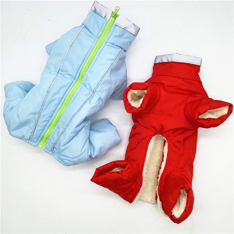 SENERY Winter Pet Dog Clothing Coat,Waterproof Warm Dog Down Jacket Reflective Boy//Girl Dog Jumpsuit