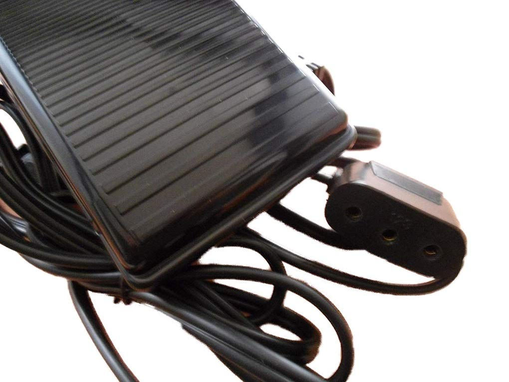 NGOSEW Foot Control Pedal for Singer Sewing Machines 15-90, 15-91, 15-96, 15-88, 66-16, 201