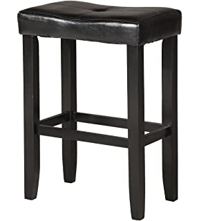 ACME Furniture 96241 Micha Counter Height Stool (Set Of 2), Black