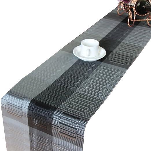 Tischläufer Platzsets Abwaschbar Rutschfest Tischdecken Pvc