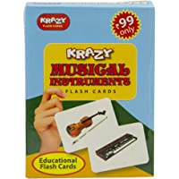 Musical Instruments Mini Flash Cards