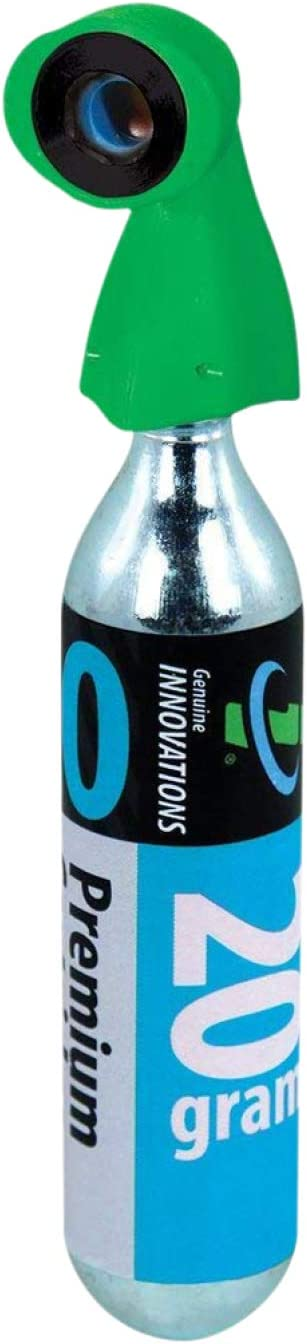 "Genuine Innovations Microflate Nano CO2 Inflator 12g 16g 20g 25g 3//8/"" 24TPI"
