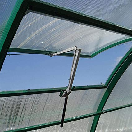 Solar Heat Sensitive Automatic Greenhouse Vent Opener Auto Vent Kit Lifts 15 Lbs