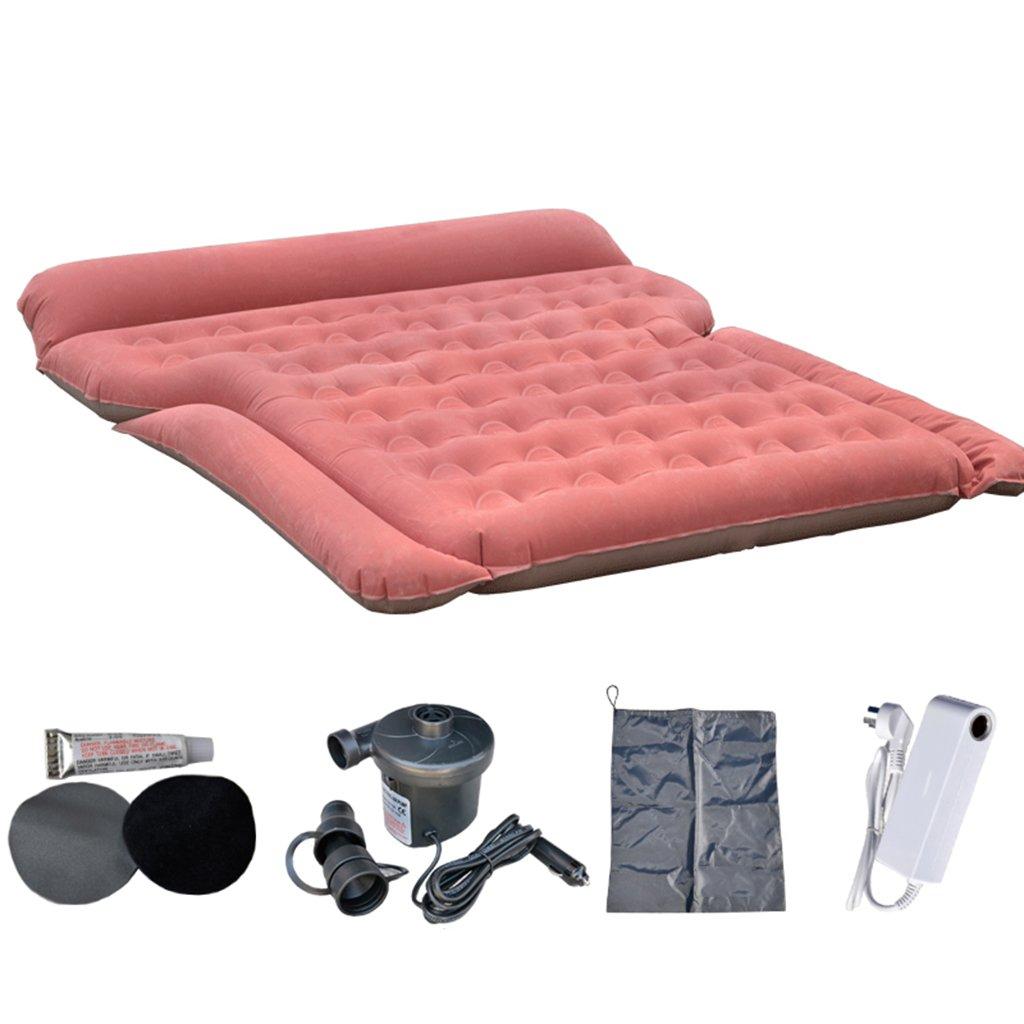 ポータブルカークッションエアベッド旅行キャンプ電気ポンプと枕の背もたれの背もたれの背もたれシート付き拡張されたソファ180×145cm ( 色 : Style 1 ) B07BYRJMHZ Style 1 Style 1
