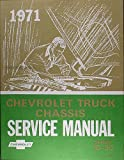 img - for 1971 CHEVROLET TRUCK & PICKUP REPAIR SHOP & SERVICE MANUAL - For: 10-30 Series, Cheyenne, CS, CST, Suburban, Blazer, stake, platform, panel, forward control, Step Van, Motorhome chassis,C, K & P series 10-30, K5, 1/2 ton, 3/4 ton, 1 ton book / textbook / text book