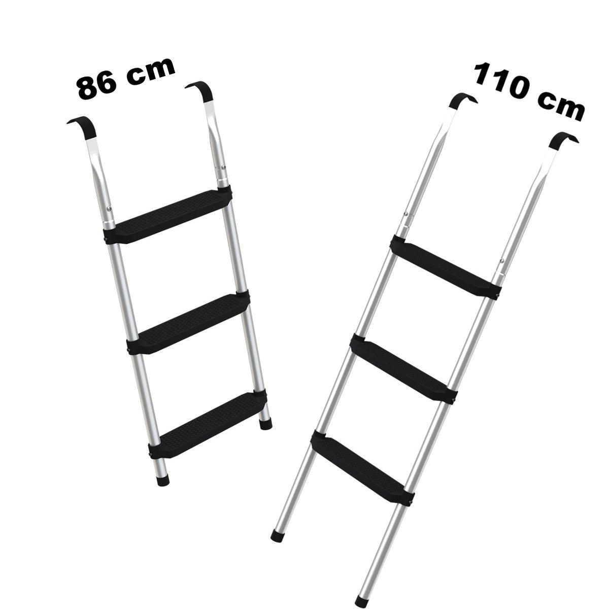 Ampel Escalera para camas elásticas grandes  ca cm  escalones anchas