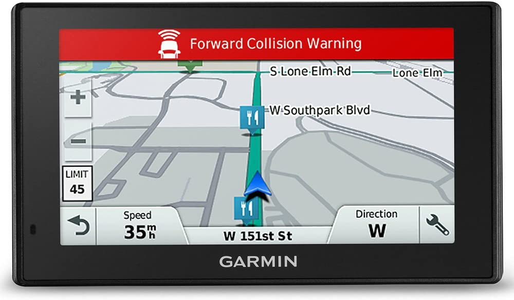 Garmin Driveassist 51 Lmt D Eu Navigation Device Lifelong Map Updates Traffic Info Camera Based Driver Alerts Smart Notifications 5 Inch 12 7cm Multiouch Glass Display Navigation Car Hifi