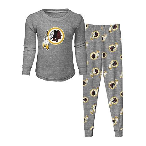 Outerstuff Toddler Washington Redskins Pajama Set Boys Sleepwear Set (2T) 16da5e974