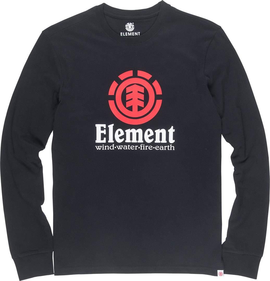 Element Vertical Longsleeve Tee Flint Black