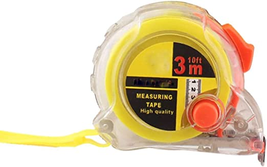 Centimeter Measuring Tape Steel Tape Measure Retractable with Lanyard Hand Tools