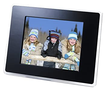 estarling 8 inch digital wireless picture frame black - Wireless Picture Frame