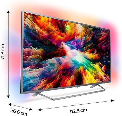 7300 series Televisor 4K ultraplano con tecnología Android TV 50PUS7303/12: Philips: Amazon.es: Electrónica