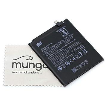 Batería para Xiaomi Original para Xiaomi Redmi Note 4X BN43 con paño mungoo