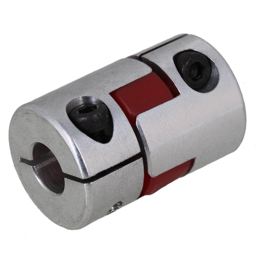 CNBTR D20L30 Anti-oil 6mmx8mm Absorb Vibration CNC Plum Coupling Shaft Coupler yqltd BHBUKALIAINH825