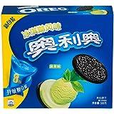 奥利奥冰淇淋夹心抹茶味家庭装388g