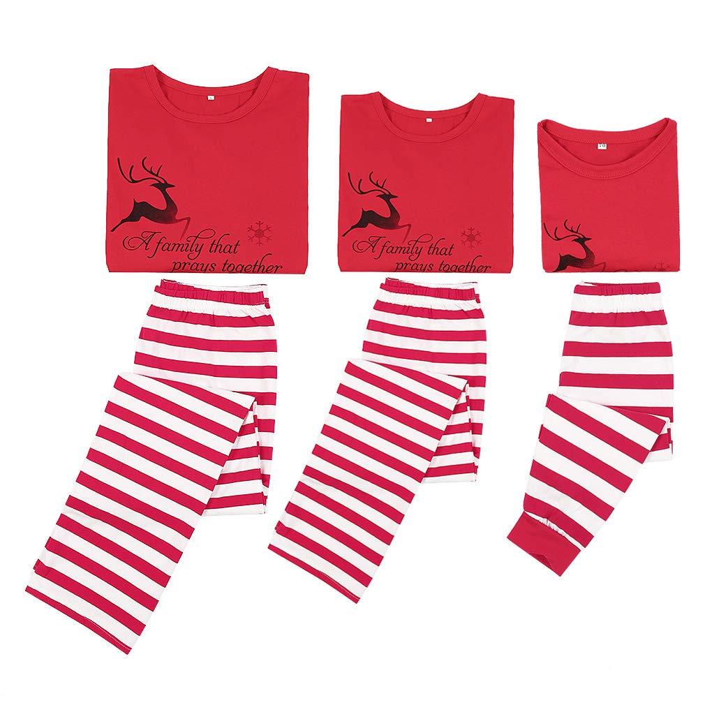 315517491a Holiday Matching Christmas Pjs for Family Kid Pajamas Set