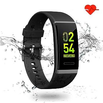 LTPAG Pulsera Inteligente Reloj Deportivo, Pulsera de Actividad Inteligente, IPX7 Pulsera Deporte Fitness con
