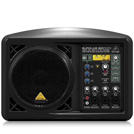 Amazon.com: Behringer eurolive b207mp3: Musical Instruments