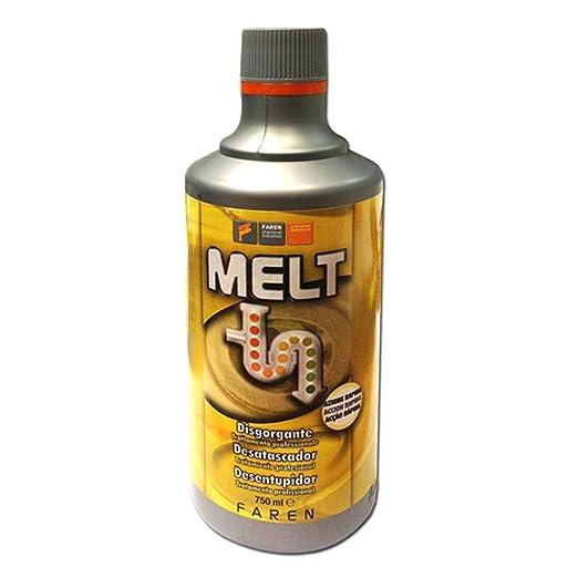 49 opinioni per MELT Disgorgante liquido rapido Professionale sturalavandini sgombratubi 750 ml