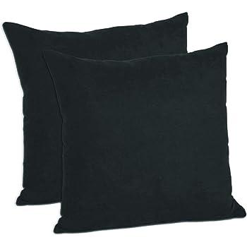 Amazon Com Moonrest Faux Suede Decorative Pillow Shams