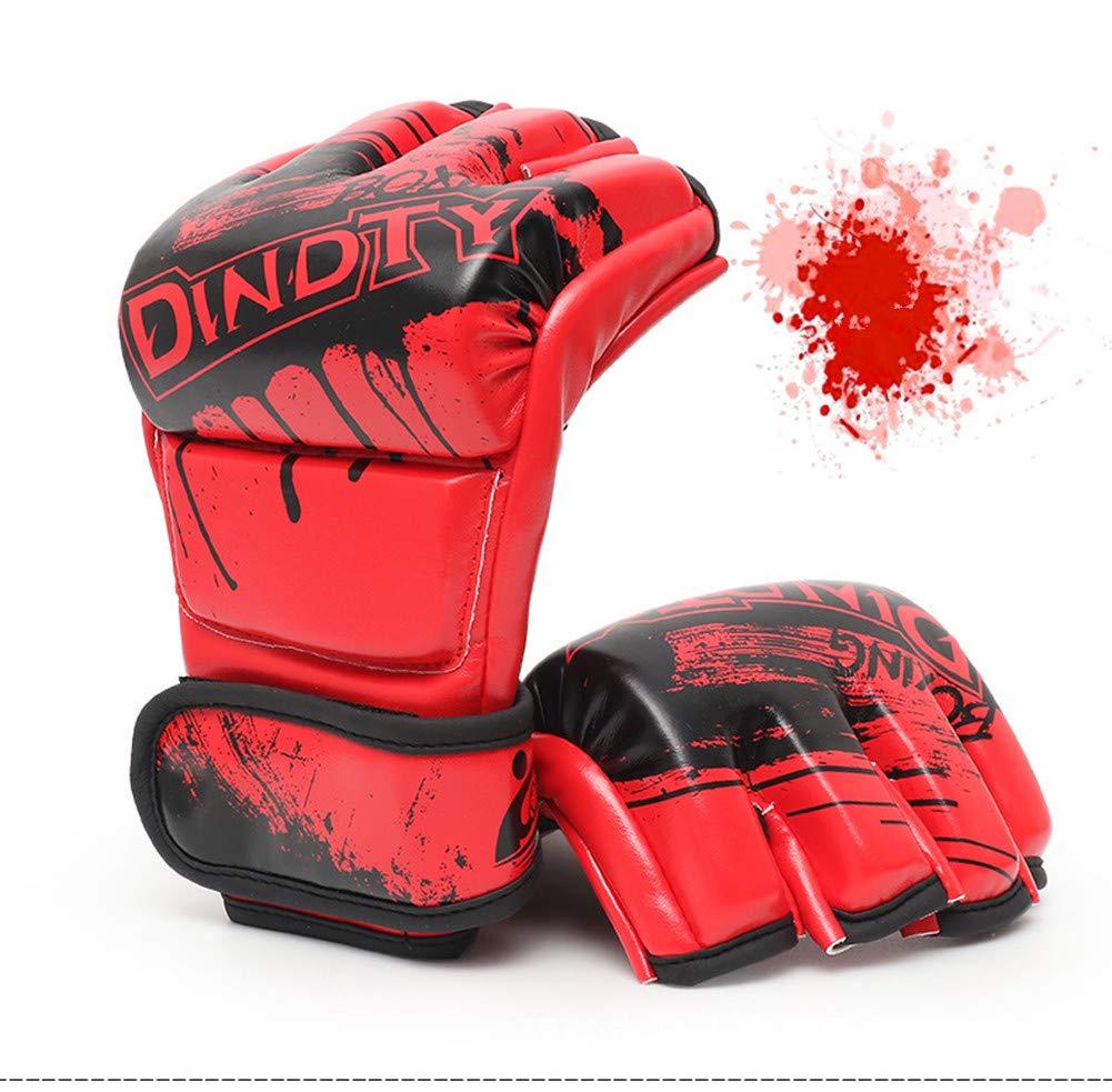 Adult Boxer Set, Fighting Sanda Guanti Da Combattimento, Sport Outdoor Attrezzature Protettive,red