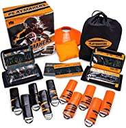 Crown Sporting Goods Playmakers Flag Football Set, Orange, Youth