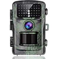 """TOGUARD Trail Camera 14MP 1080P Game Hunting Cameras with Night Vision Waterproof 2.4"""" LCD IR LEDs Night Vision Deer Cam Design for Wildlife Monitoring and Home Security"""