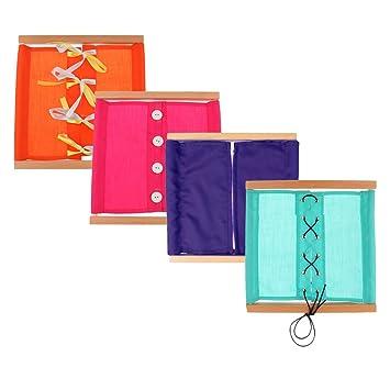 Montessori Material DiariaCaja Educativo Ropa Vida De Sharplace shQtrd