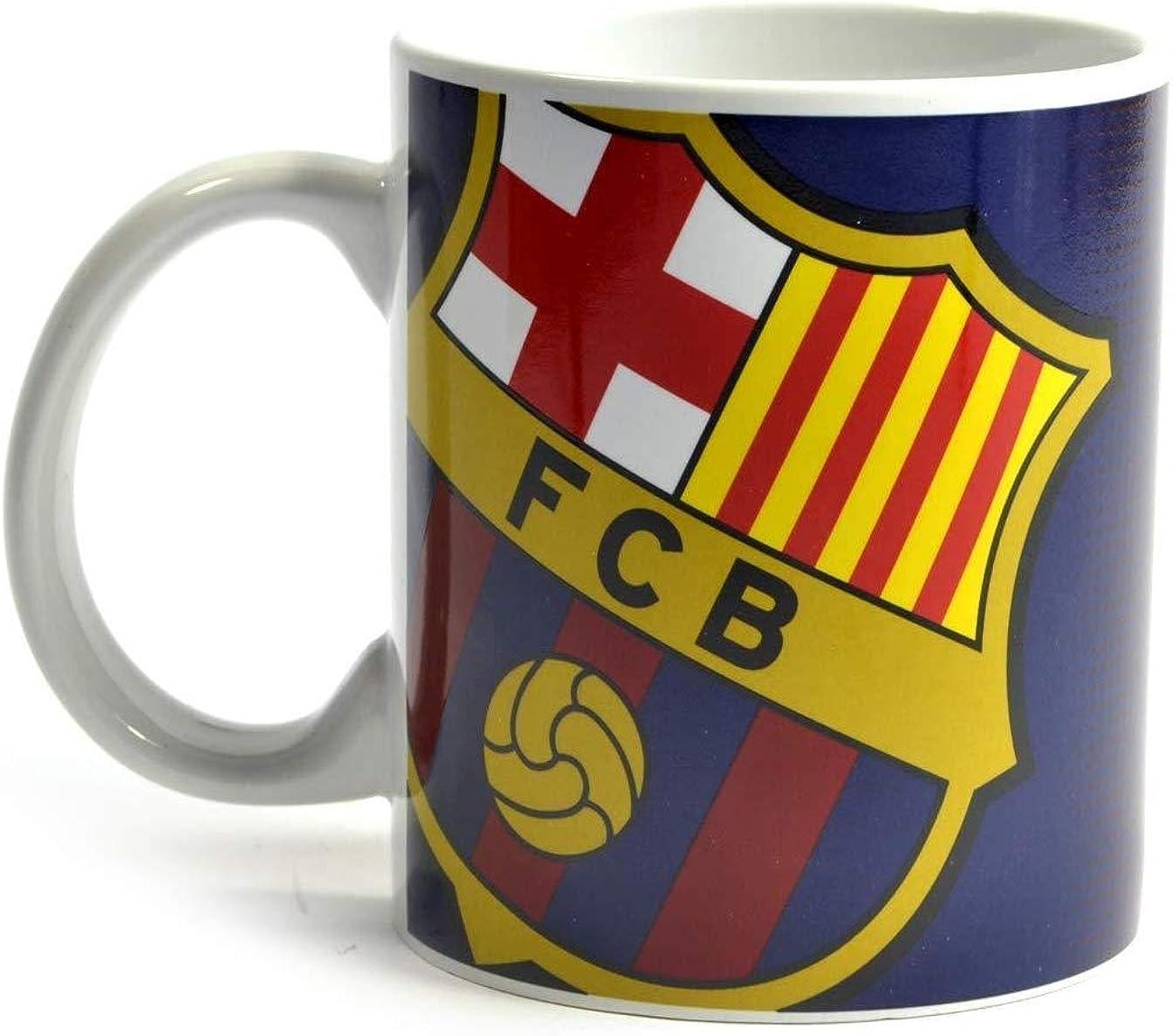 FC Barcelona Halftone 11oz Mug