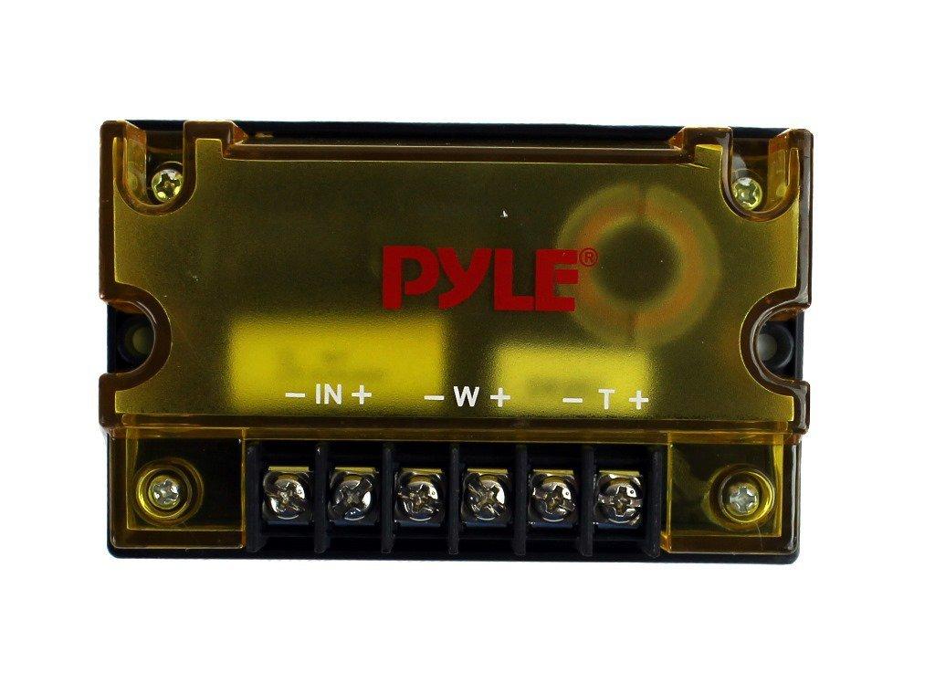 2) PYLE PLG6C 6.5'' 400W 2 Way Car Component+ 2) 6.5'' 600W Subwoofer Sub Speakers