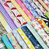 Quilting Fabric, Misscrafts 50pcs 12 x 12 inches
