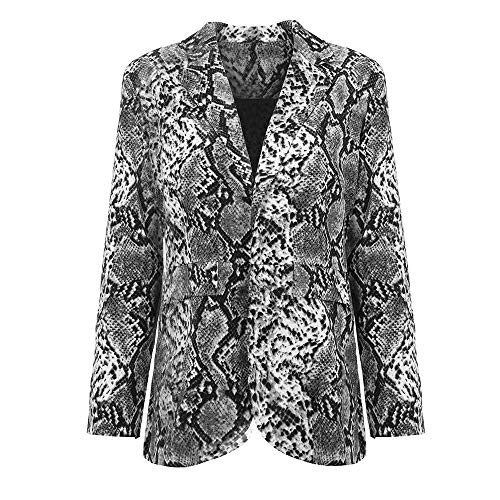 URIBAKE 2018 Newest Women's Printed Jacket,Suit Autumn Winter Lapel Collar Long Sleeve Botton Pocket Coat from URIBAKE