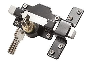 GateMate 149 0186 50mm Long Throw Gate/ Door Lock for Garden Gate  sc 1 st  Amazon.com & Amazon.com: GateMate 149 0186 50mm Long Throw Gate/ Door Lock for ... pezcame.com