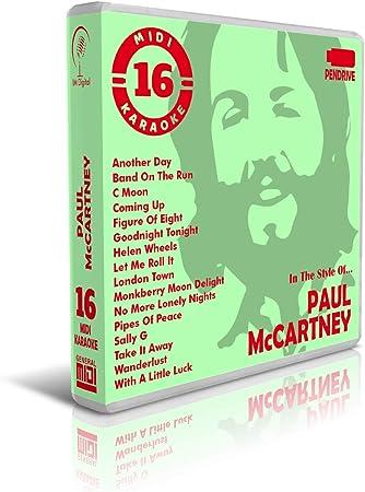 Paul Mccartney - Pendrive USB - Contiene 16 Midi Karaoke Al ...