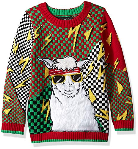 635e726a52e1 Ugly christmas llama sweater long sleeve the best Amazon price in ...