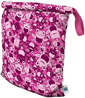 product image for Planet Wise Roll Down Wet Diaper Bag - Large - Hopping Holly