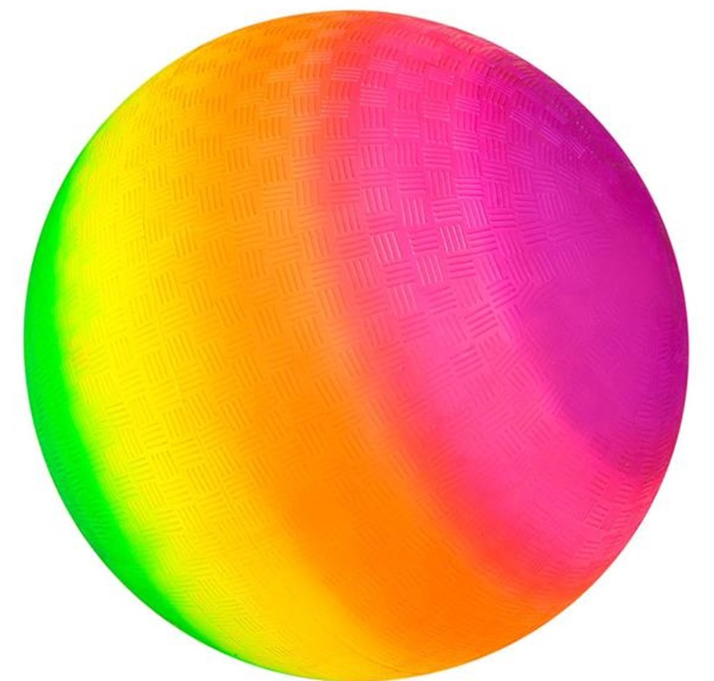 16'' RAINBOW PLAYGROUND BALL by Rhode Island Novelty