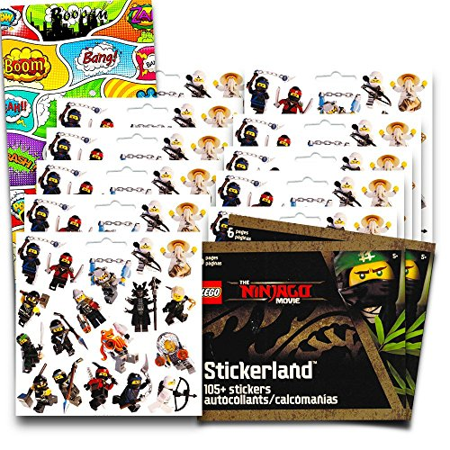 Lego Ninjago Stickers Party Favors Pack --