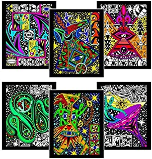 Amazon.com: Fairly Odd Parents Vivid Velvet Poster to Color Set with ...