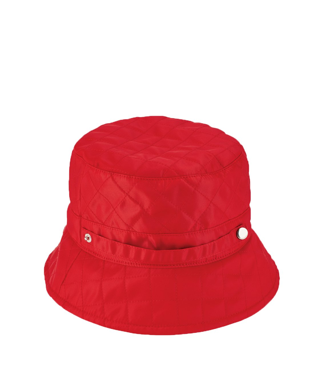 San Diego Hat Company Women's Quilted Rain Hat, Red, OS by San Diego Hat Company