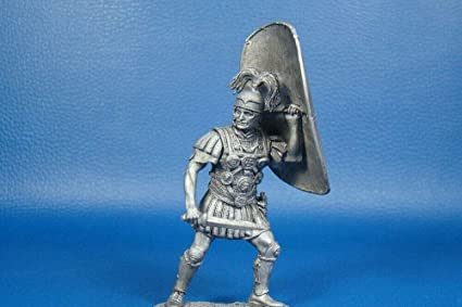 45 BC Tin toy soldier miniature collection 54mm Rome Centurion at the Battle