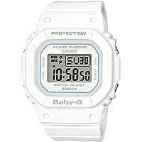 Casio Women's 手镯BGD-560-7ER  digital Resin White BGD-560-7ER