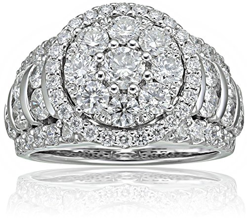 10k-White-Gold-Diamond-Composite-Round-Engagement-Ring-3cttw-H-I-Color-I2-Clarity-Size-7
