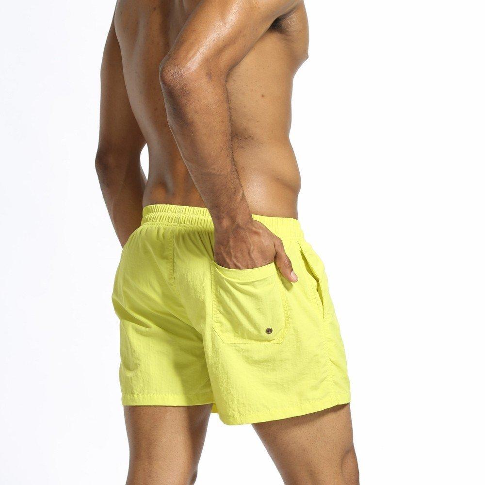 c406a1aec370 Zolimx Costumi da Bagno da Uomo Mare e piscina Pantaloncini da Bagno da Uomo ,Pantaloncini da ...
