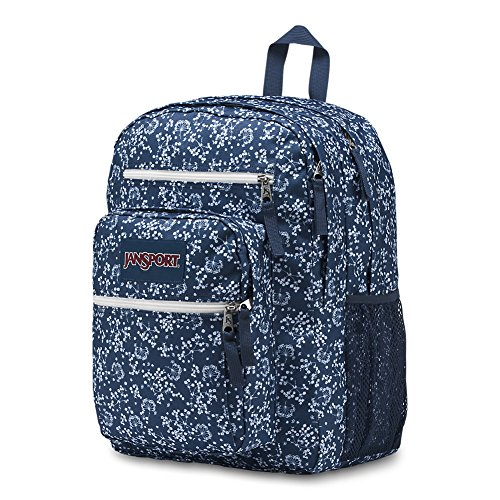 JanSport Unisex Big Student Oversized Backpack Navy Field Floral by JanSport (Image #2)