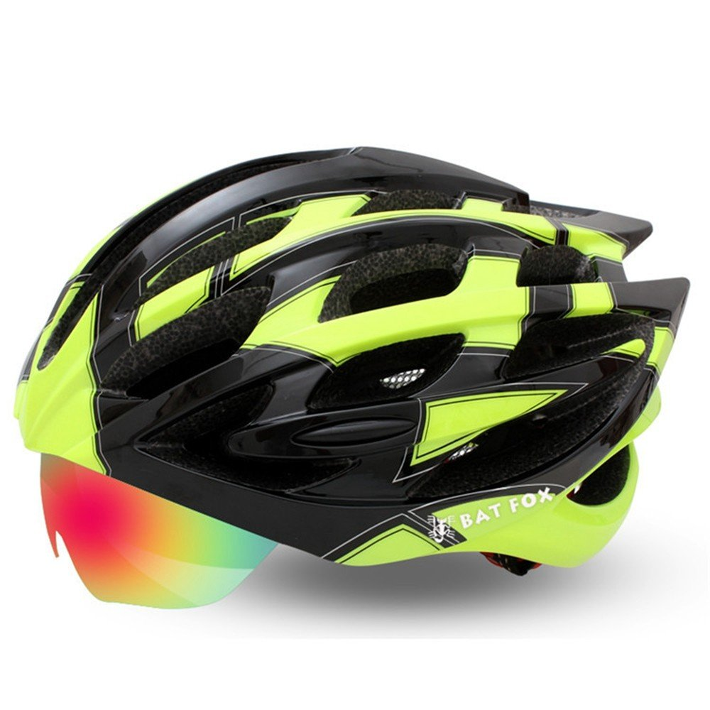 LOLIVEVE Fahrradhelm Riding Mountainbike Integral Forming Helm Big Code Schutzhelm