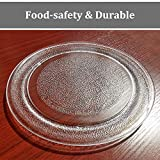 """9.6"""" 245mm Microwave Glass Turntable Plate Dish"""