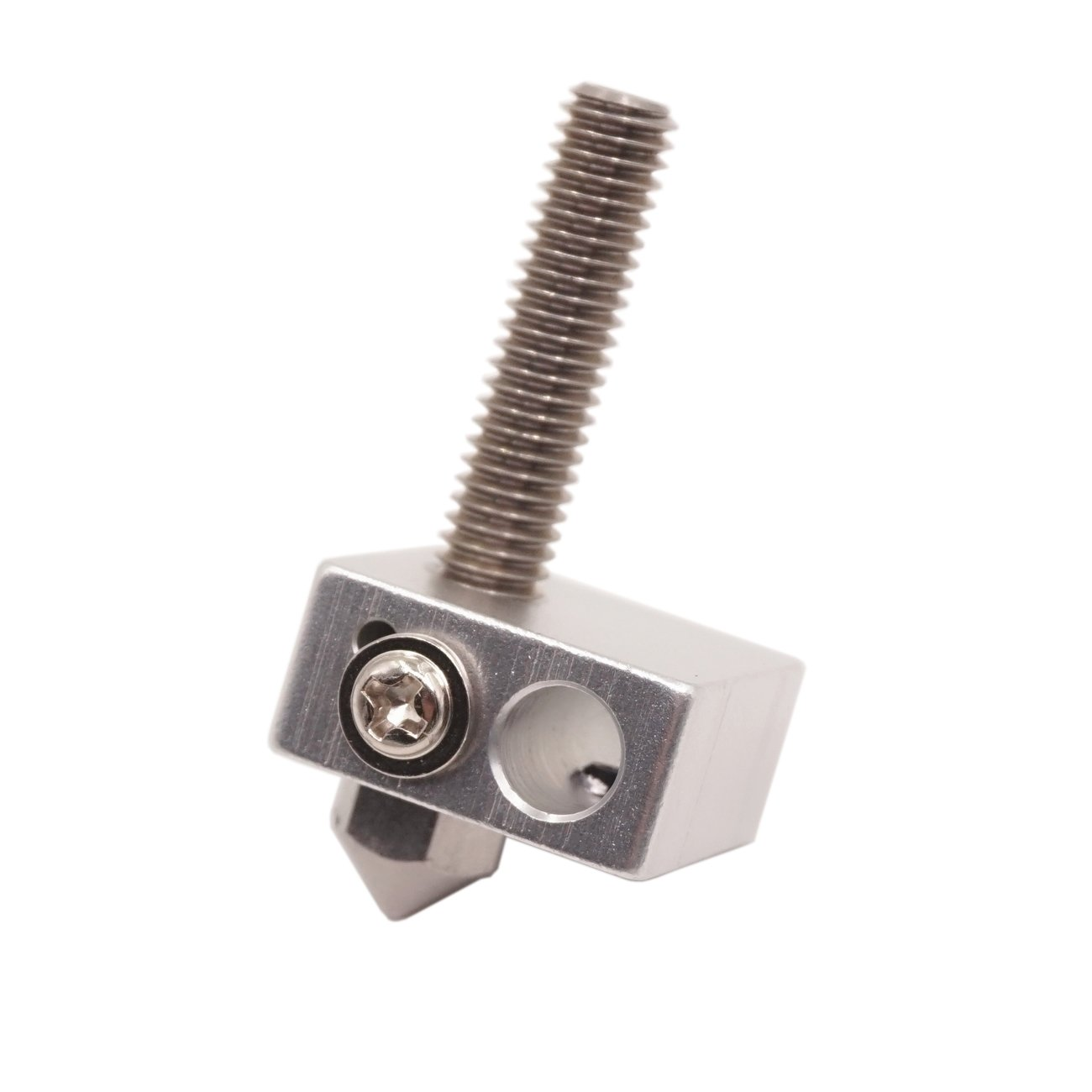 WINSINN Stainless Steel Nozzle 0.4mm MK8 CR10 For 3D Printer Creality CR-10 CR10 Ender 3 5 0.25mm 0.3mm 0.4mm 0.5mm 0.6mm 0.8mm Extruder Print Head Pack of 20Pcs