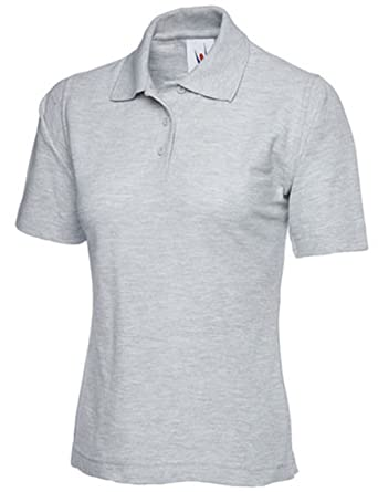 Pique-Polo-Shirt f uuml r Damen, Gr ouml  szlig e 36 bis 54 Plus, in ... b4212395d6
