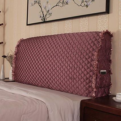 Amazon Com Taiyucover Anti Wrinkle Bed Headboard Slipcovers